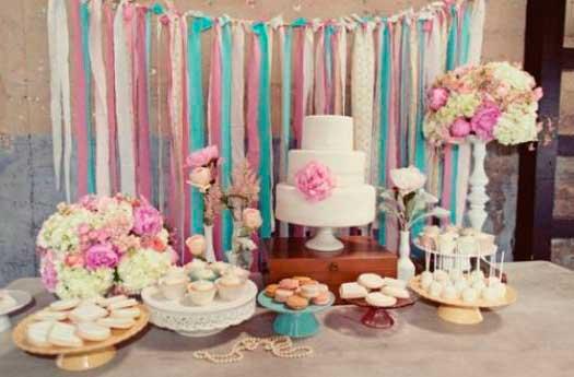 Fotos e imagens sobre como decorar casamentos simples com fitas