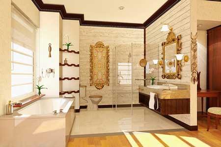 banheiros com decoração da moda
