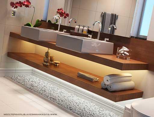 35 dicas de como decorar banheiros fotos e dicas for Decorar fotos