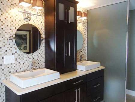 banheiros decorados com classe