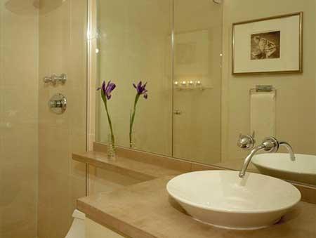 30 dicas de decora o de banheiros pequenos for Modelos de banos terminados