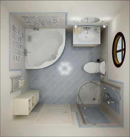 30 dicas de decora o de banheiros pequenos for Small bathroom design 6x6
