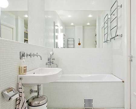 como decorar banheiros mais pequenos
