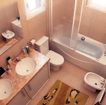 decoração de banheiros pequenos fáceis
