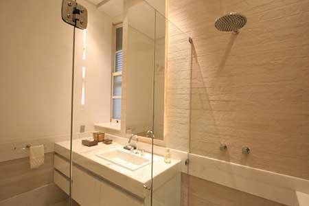 inspiração em imagens para Banheiros pequenos