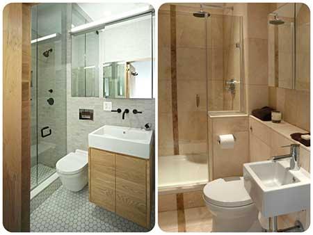 ideias para quem vai decorar Banheiros pequenos