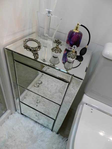 30 DICAS DE DECORAÇÃO DE BANHEIROS PEQUENOS -> Banheiro Pequeno E Chique