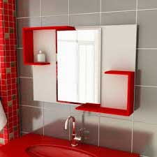 dicas de Banheiros pequenos vermelho
