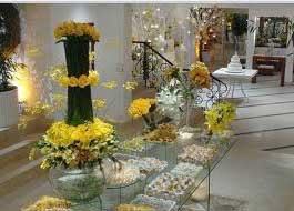 dicas de casamentos decorados em amarelo