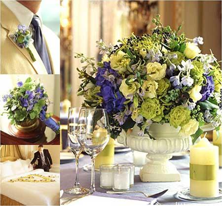 como decorar casamentos com amarelo