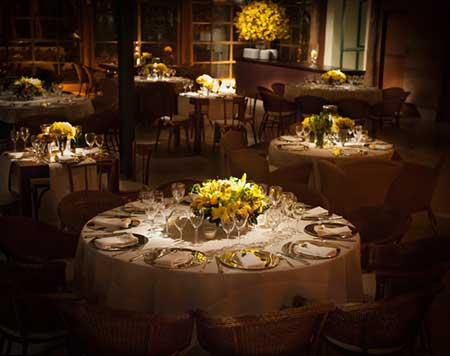 dicas de como decorar Casamento amarelo com marrom