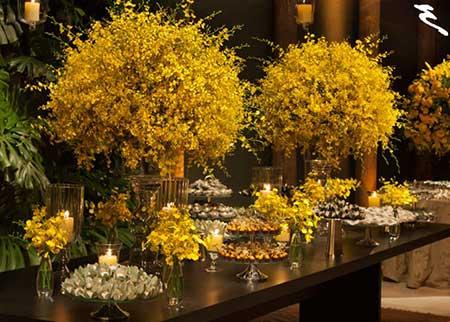 Fotos de Casamento amarelo rustico