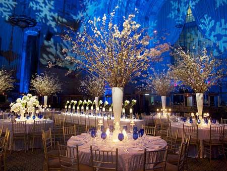 fotos de casamentos decorados com azul