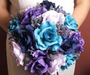 como decorar casamentos com azul