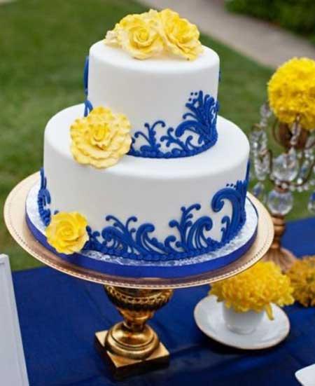 decoracao para casamento azul marinho e amarelo : decoracao para casamento azul marinho e amarelo: mais dicas de decoração para o seu casamento no vídeo abaixo
