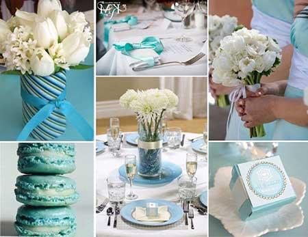 dicas de como decorar casamento azul