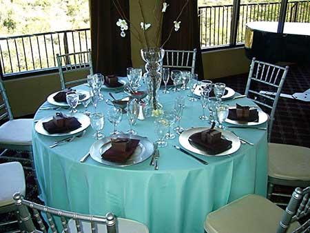 Fotos e dicas de Casamento azul tiffany e marrom