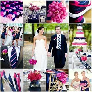 como decorar casamento com a cor azul