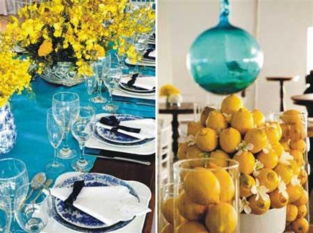 inspiração para decoradores de casamento na cor azul
