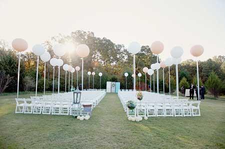 dicas de casamentos com balões