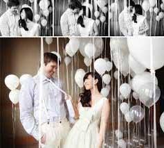 Fotos de Casamento decorado com bexigas