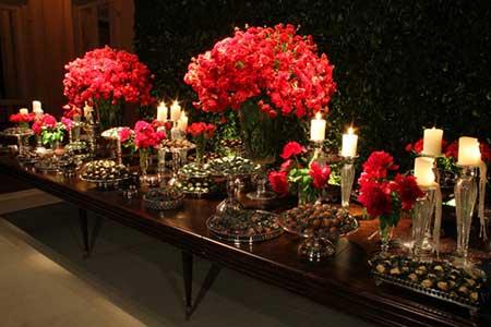 casamentos decorados com vermelho
