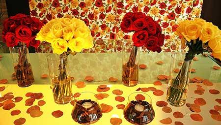 fotos e dicas de decoração vermelha para casórios