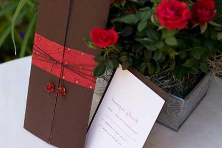Dicas, fotos e imagens de Casamento vermelho e marrom