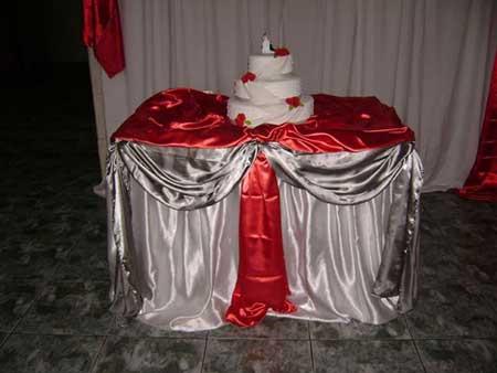 dicas e imagens de decorações vermelhas de casamento
