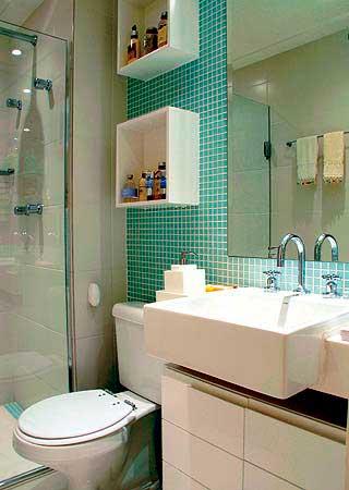 #320450 35 DICAS DE COMO DECORAR BANHEIROS Fotos e Dicas 320x450 px decoração de banheiros pequenos simples