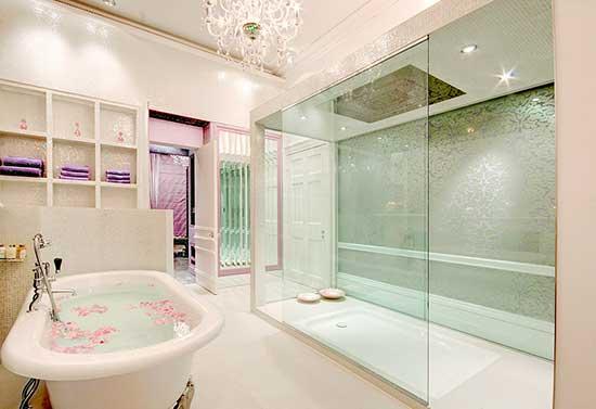 35 DICAS DE COMO DECORAR BANHEIROS Fotos e Dic -> Gabinete De Banheiro Luxo