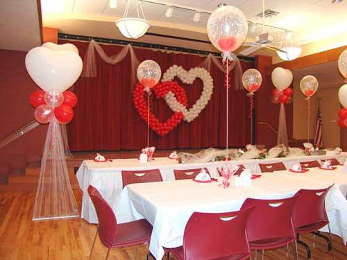 40 DICAS DE COMO DECORAR CASAMENTOS SIMPLES -> Decoração Balões Casamento
