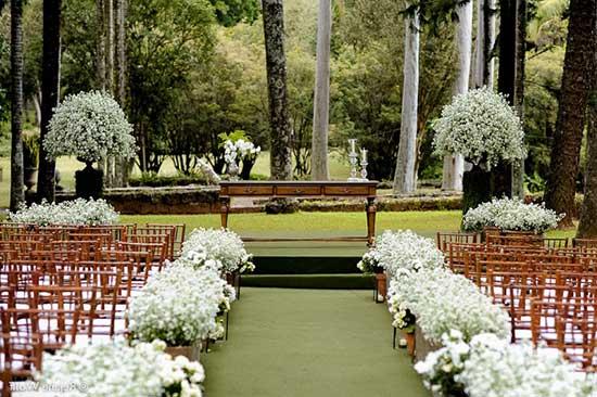 Decoração de Casamento altar