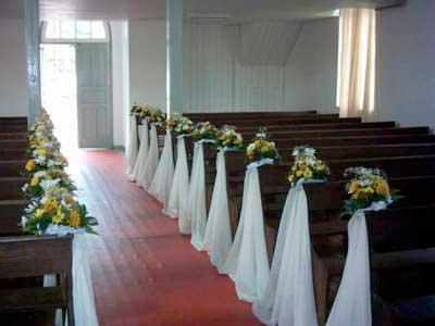 como decorar casamento simples