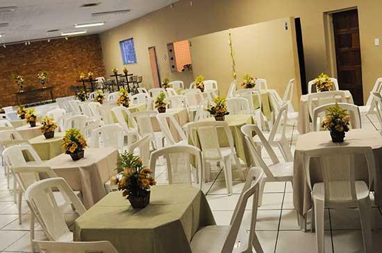 Fotos de Decoração de casamento simples em salao