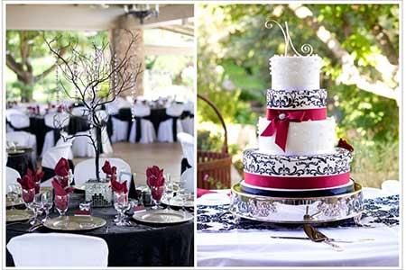fotos, dicas e imagens de decoração de casamento com vermelho