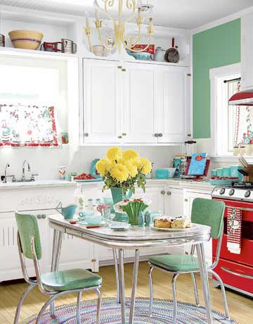Colorful Kitchen Decor Ideas