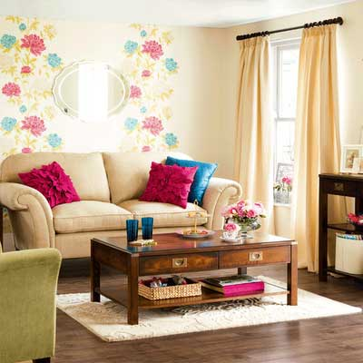 decoração simples e barata