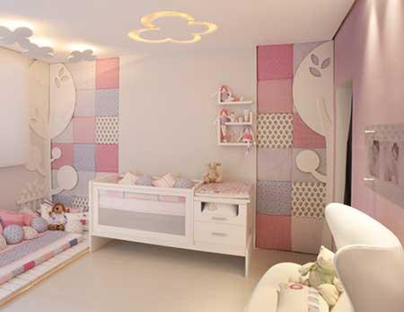 Objetos para ajudar na decora??o de quarto de beb?