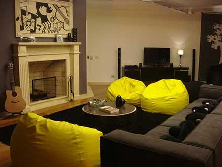 decoração para salas simples