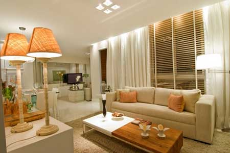 como decorar salas com simplicidade