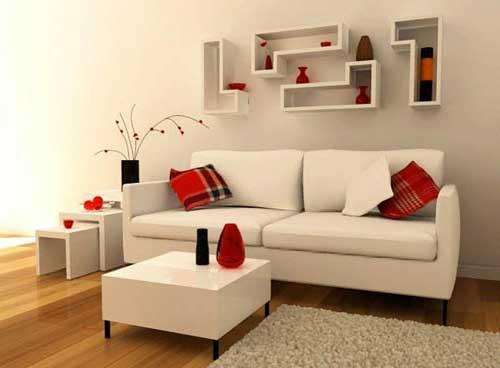 de Salas » Decoração Simples para Salas Pequenas e Grandes
