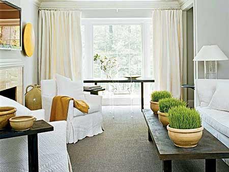 decoração simples para salas