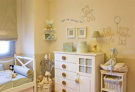 Camas Para Bebes De 2 Anos #4: Decoração-quarto-de-bebe-2.jpg