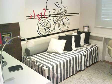 dicas de como decorar casas com quartos pequenos