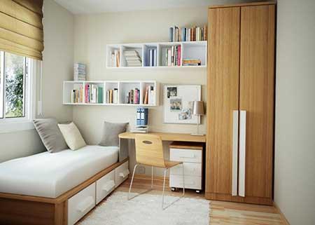 inspiração para decoradores amadores que desejam decorar quartos pequenos