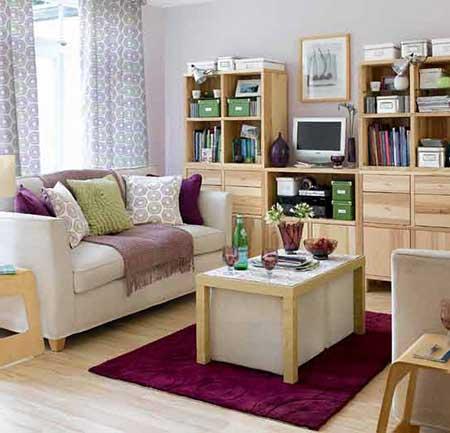 imagens de salas simples decoradas