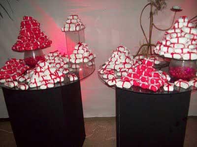 dicas de casamentos decorados com vermelho