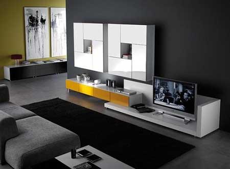 fotos de salas simples decoradas