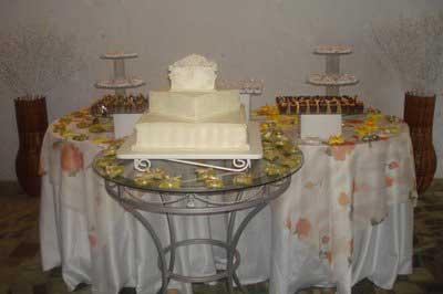 Fotos de Mesas para casamento simples